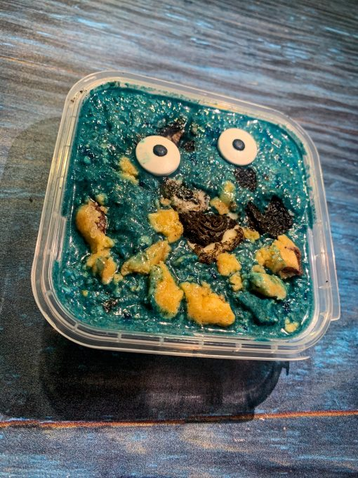 Overnight Oats – Cookie Monster