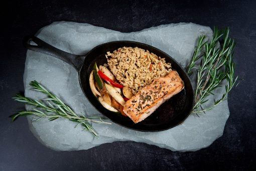 Lemon Rosemary Salmon
