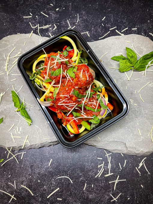 Meatball Zoodles